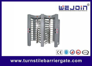 China double routeway  stainless turnstile gates , full height turnstile ,  office building gate security gates , manufacture fabriek