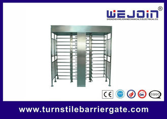 China Stainless Steel Full Height Access Control Turnstile Gate CE Approved fabriek