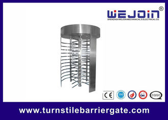 China RFID barrier gate Security Full height Turnstile for Subway , Metro fabriek