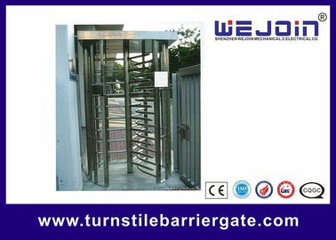 China 304 / 201 Stainless Steel Smart Card Access Control Turnstile Gate fabriek