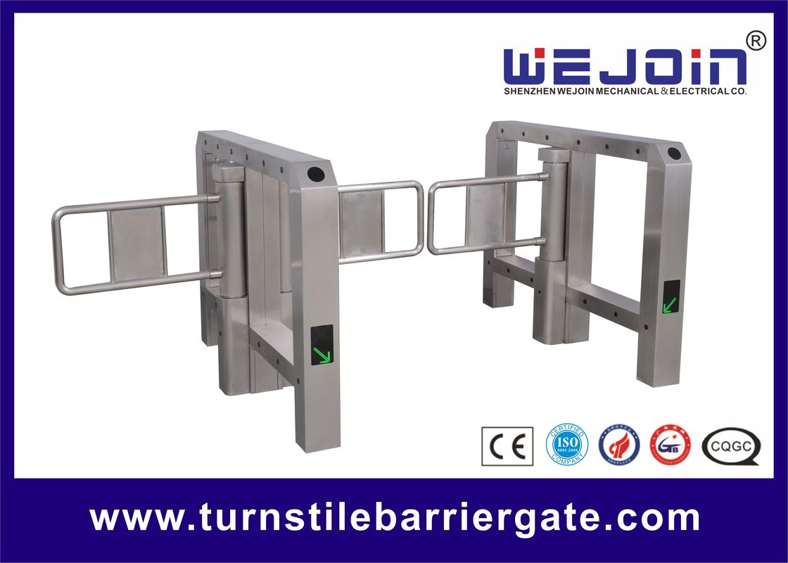 Intelligent swing barrier with bridge-type and steel and aluminum alloy motor leverancier