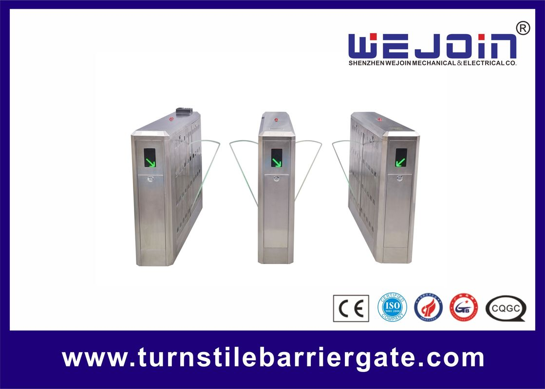 Intelligent Flap Barrier Gate with Compact Electro-mechanical Design and Adjustable Auto-delay Closing Time