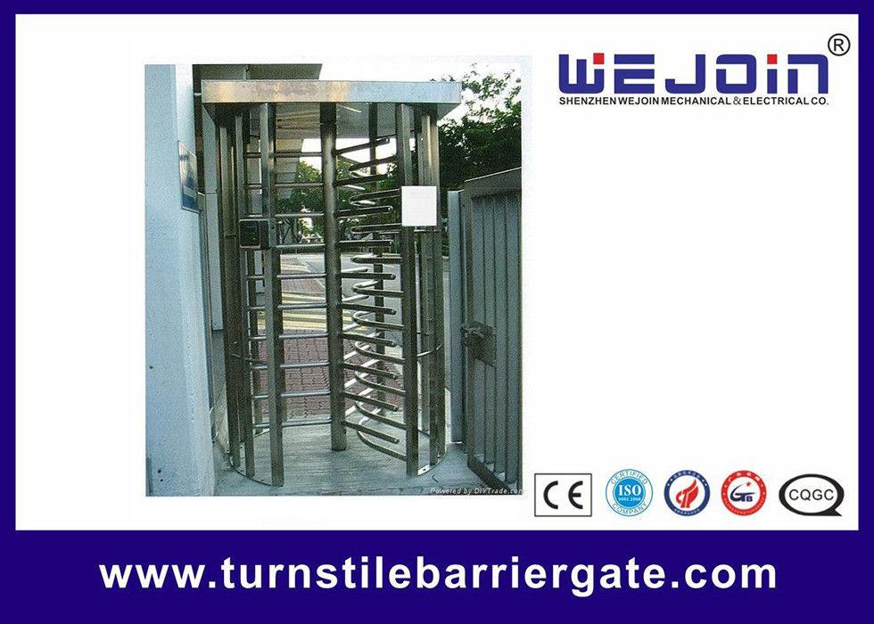 304 / 201 Stainless Steel Smart Card Access Control Turnstile Gate leverancier
