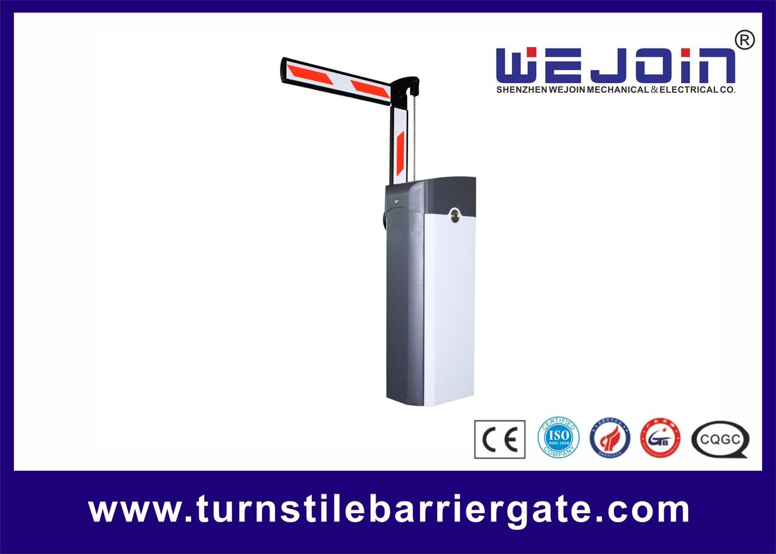Access Control Vehicle Barrier Gate RFID / Barcode Ticket For Car Parking System