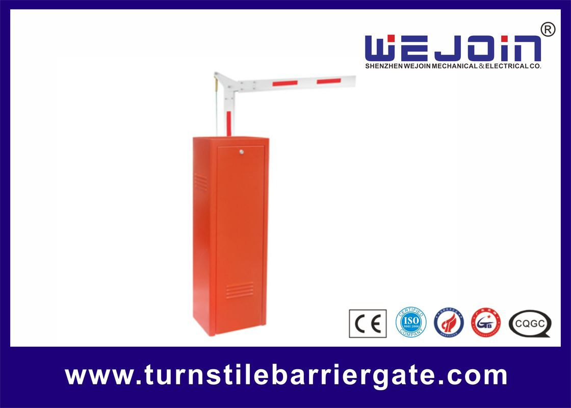 80 Watt Automatic Parking Barrier Gate 3/6 Second Speed Highway Toll Application