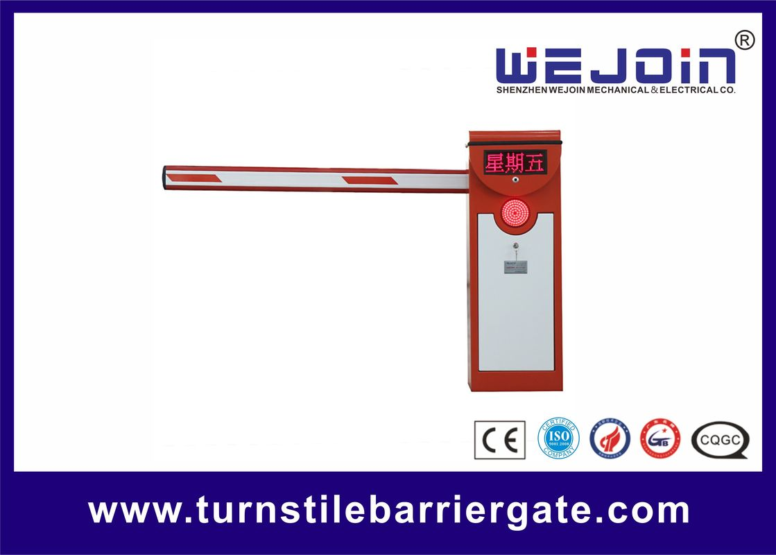 High Speed 6M 0.6s Automatic Gate Barrier System 50/60HZ For Car Park Entrance